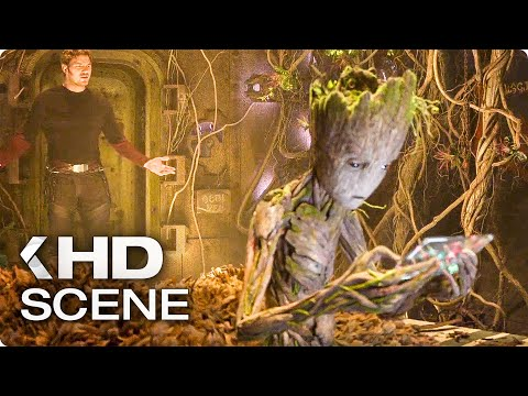 GUARDIANS OF THE GALAXY VOL. 2 Teen Groot Extended Scene & Trailer (2017)