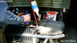 9. Polaris Ranger Front Differential Fluid Change