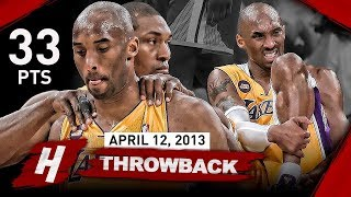 Download Video The Game that SHOCKED Laker Nation & Changed Kobe Bryant's Career FOREVER vs Warriors (2013.04.12) MP3 3GP MP4