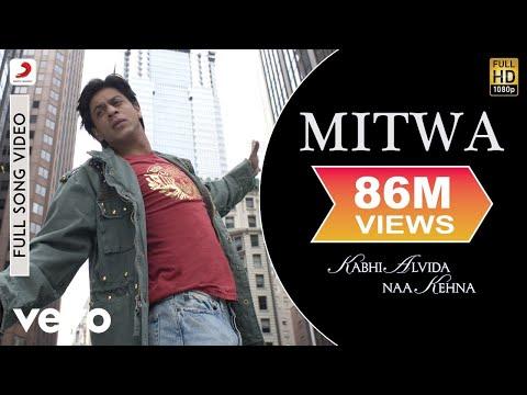 Video Mitwa - Kabhi Alvida Naa Kehna | Shahrukh Khan| Rani Mukherjee download in MP3, 3GP, MP4, WEBM, AVI, FLV January 2017