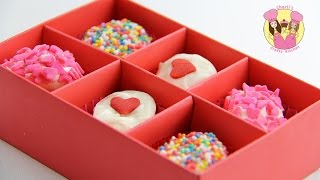 EASY MARSHMALLOW VALENTINES TREATS - looks like a box of chocolates - YouTube