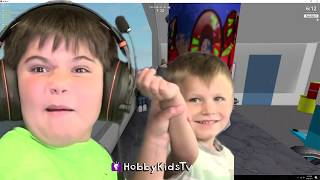 HobbyFamily play Hide and Seek in real life on a super cool motorized car! HobbyPig plays Ultimate Hide and Seek on Roblox PC video game family fun. Will we get found? Watch now too see. Subscribe for NEW Shows: http://www.youtube.com/subscription_center?add_user=HobbyKidsTV ---TOY VIDEOS---Family Video Gaming Fun: https://www.youtube.com/playlist?list=PLzDMAGLsSlZrhbIdcXn1B5qLtd_6D9407World's Biggest Surprise Eggs: https://www.youtube.com/playlist?list=PLzDMAGLsSlZoNvpGg-ijs4DlYu2RMSOxoGames and Challenges: https://www.youtube.com/playlist?list=PLzDMAGLsSlZqo_IVVsyn7Sn0yFehplgK1Best Family Fun Shows: https://www.youtube.com/playlist?list=PLzDMAGLsSlZpBsqsE4zkBbucAsQ0bgiWdLearning Playlist:http://www.youtube.com/playlist?list=PLzDMAGLsSlZo8aAHrPRzVmM_oW_hZtxdO---OUR OTHER HOBBY CHANNELS---HobbyFamilyTV (Vlog and Extras): http://www.youtube.com/user/hobbykidsvidsHobbyPigTV (Video Gaming):http://www.youtube.com/user/hobbygamestvHobbyFrogTV (Video Gaming):http://www.youtube.com/user/hobbytrixieHobbyBearTV (Toys, Video Games, more):http://www.youtube.com/user/hobbykidsland---FIND US---http://www.Twitter.com/HobbyKidsTVhttps://www.facebook.com/HobbyKidsTV/http://www.HobbyKidsTV.comhttps://www.instagram.com/hobbykidstv/---ABOUT HobbyKidsTV---HobbyKidsTV is the #1 place for kids to watch family-friendly clean shows! Video gaming and giant surprise egg adventures. We are world renowned for being the first and original inventor of all GIANT SURPRISE EGGS! It was our sons unique idea in 2013 to make a wonderful GIANT surprise egg for all our fans. We are the leader in kids creative ideas, skits and science fun. Subscribe to HobbyKidsTV, the trusted brand of families across the globe. We produce the best and most fun kids toy and gaming shows. Collector of the best toys to teach kids imaginative play through games or adventures. HobbyKids love sharing fun educational learning and popular play. Be a HobbyFan today and subscribe for free to see new edutainment shows!---MUSIC BY-