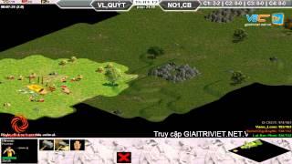 Vanelove, Quýt vs No1, Chjpboy C2T1, Ngày 28/08/2015, game đế chế, clip aoe, chim sẻ đi nắng, aoe 2015