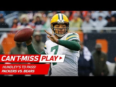 Video: Brett Hundley's Best Aaron Rodgers Impression on this Big TD Pass! | Can't-Miss Play | NFL Wk 10