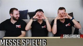 SpieleabendTV geht auf die Spiele Messe Spiel'16 in Essen. Was wir da so treiben erklären wir euch im Video. Twitter: www.twitter.com/SpieleabendTV Facebook:...