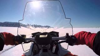 9. Arctic ride 2015 Ski-Doo Renegade 600 ACE