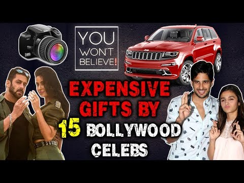 Expensive Gifts By 15 Bollywood Celebs| Saif To Ta