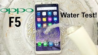 Video Oppo F5 Water Test! Actually Waterproof? MP3, 3GP, MP4, WEBM, AVI, FLV Februari 2018