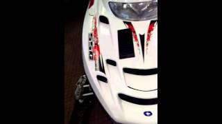6. 2008 Polaris RMK snowmobile low mileage 550 fan
