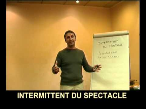 comment declarer un intermittent du spectacle