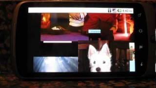 Social Media Ticker Slide Show YouTube video