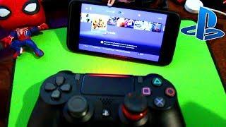 Запустил PS4 на своём Iphone (PS4 Remote Play)