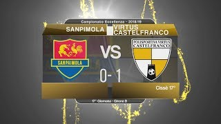 Dilettanti - Eccellenza: Sanpaimola-Virtus Castelfranco 0-1, highlights e post partita