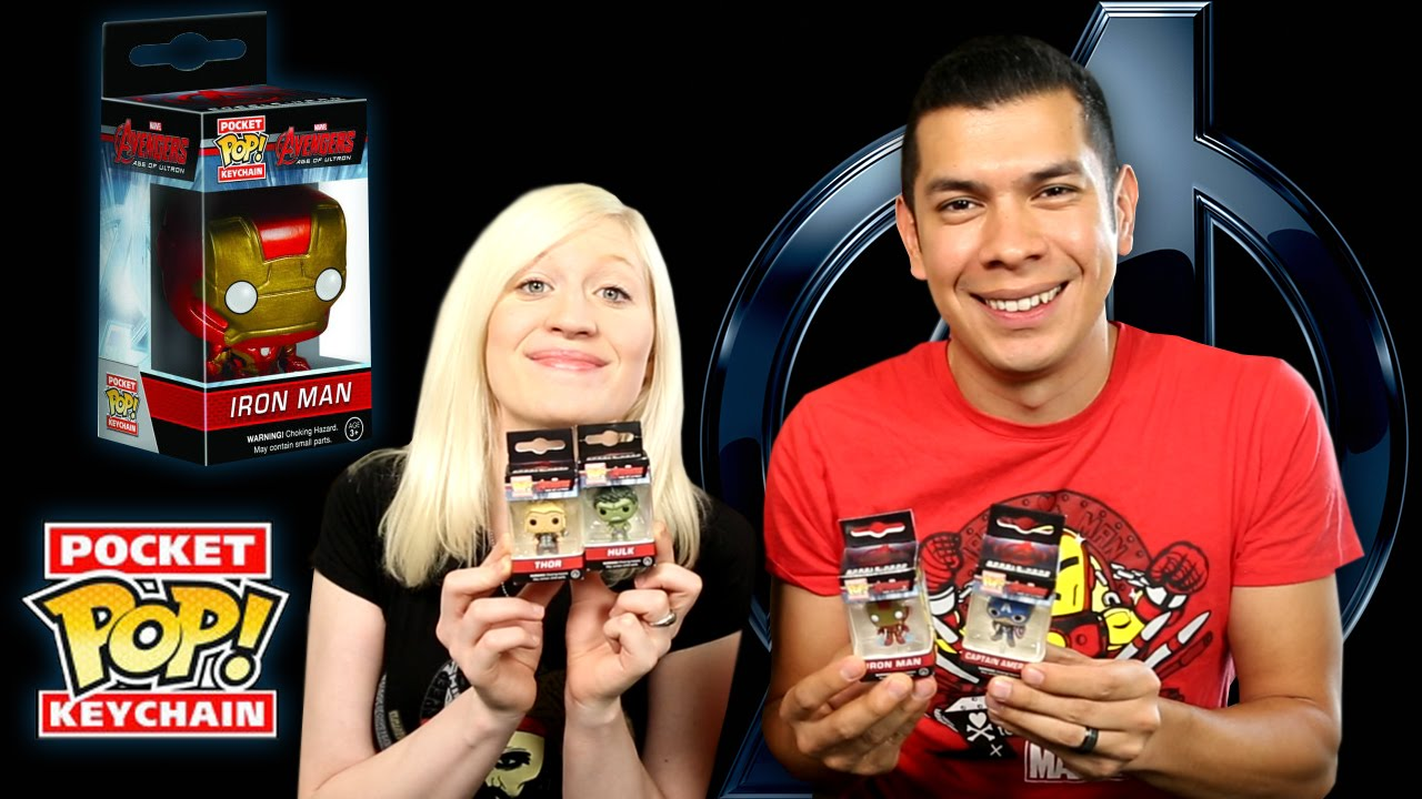 AVENGERS Age of Ultron Pocket Pop Keychains by Funko