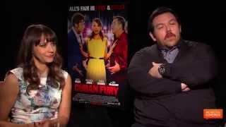Cuban Fury Interview With Rashida Jones and Nick Frost [HD]