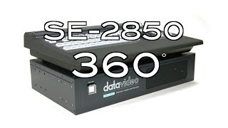 Datavideo SE-2850 12 Channel Digital Video Switcher 360˚ Video