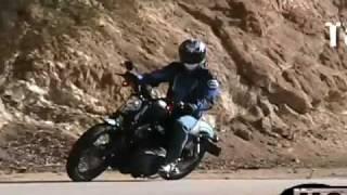 9. 2007 Harley Davidson XL1200N Motorcycle Review