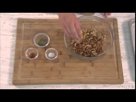 Fisher Quick Tip: Flavored Nut Mix