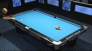 European Pool Championship 2011 - 9-ball: Gijs Van Helmond (NL) Vs Henrique Correia (PORT) Part 1