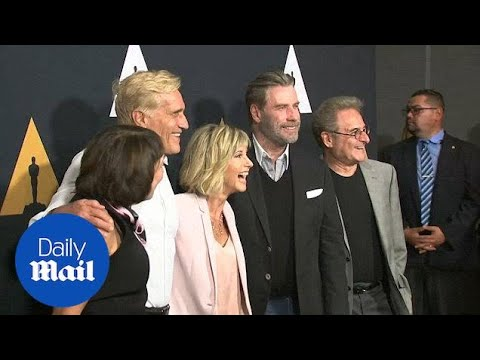 Grease stars reunite for special 40th anniversary screening