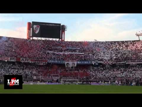 Video - RIVER PLATE CAMPEÓN 2014 - INCLEIBLE Y ESPECTACULAR RECIBIMIENTO - HD - Los Borrachos del Tablón - River Plate - Argentina