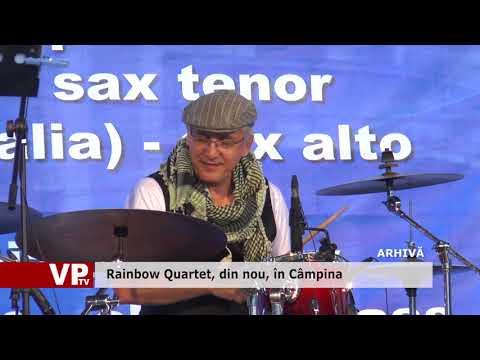 Rainbow Quartet, din nou, în Câmpina