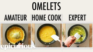 Video 4 Levels of Omelets: Amateur to Food Scientist | Epicurious MP3, 3GP, MP4, WEBM, AVI, FLV Juni 2019