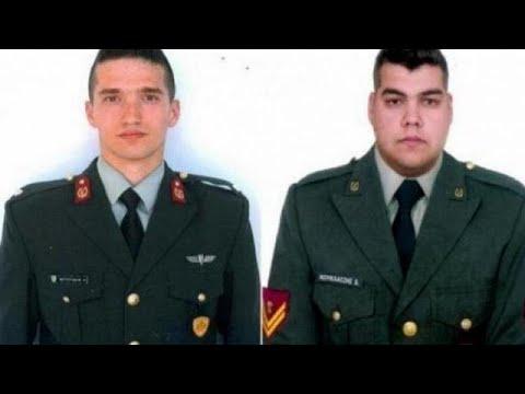 Μηνύματα για τους δύο στρατιωτικούς από Παυλόπουλο, Μητσοτάκη, Κεφαλογιάννη…