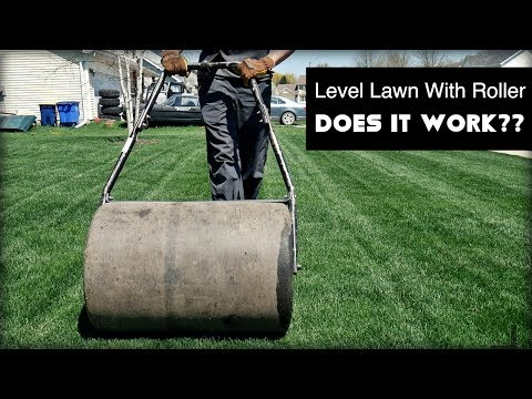 Leveling Lawn With Lawn Roller - Does It Work?