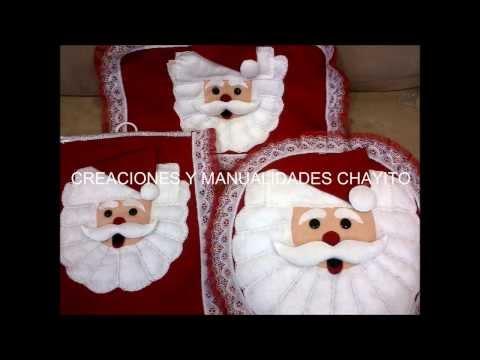 Manualidades para Navidad - Fofucha Papa - Youtube Downloader mp3