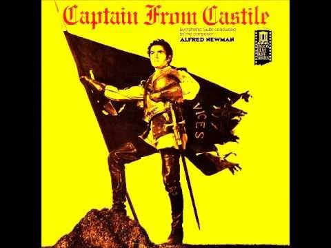 Alfred Newman - Captain from Castille - Main Title