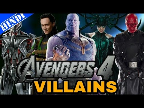 12 Villains That Are Confirmed And Rumoured To Reappear In Avengers 4 | Superhero Talks