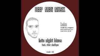 Download Lagu Kahn - Late Night Blues Ft. Rider Shafique (DEEP MEDi Musik) 2012 Mp3