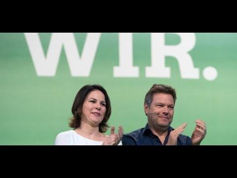 Emnid-Umfrage: Der Höhenflug der Grünen setzt sich unve ...