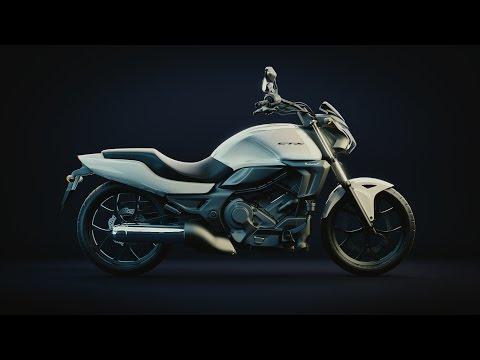 Honda CTX700N (Aprox) - Blender Timelapse