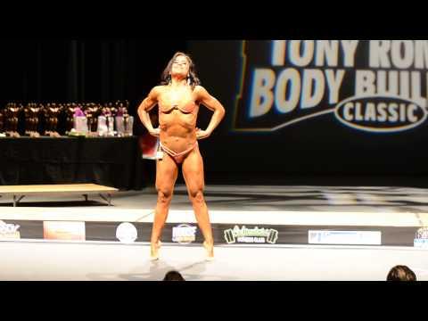 Women Physique - Becky Boo (Rebecca Ayala)Posing Routine Tony Roman 2013