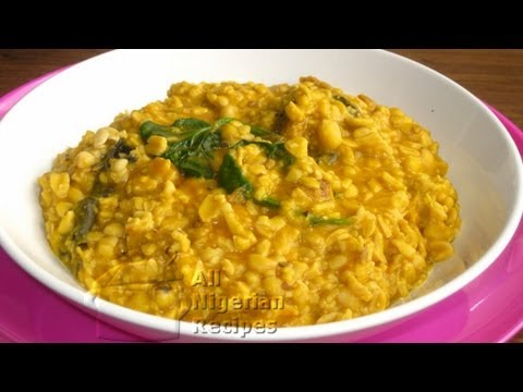 Breadfruit Porridge - Ukwa (Treculia Africana)