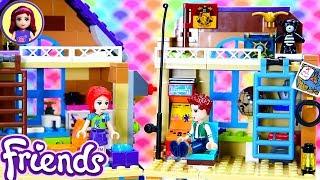 Lego Friends Mia's House Renovations - Daniel's Bedroom & Kitchen Extension Custom Craft DIY