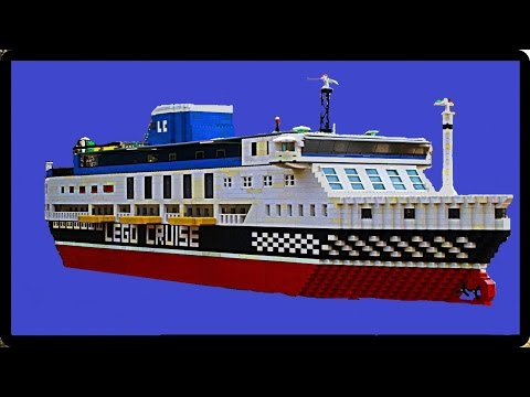 Making a Lego Ship in Stop Motion 4