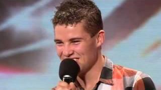The X Factor 2009 - Joseph McElderry - Auditions 1  (itv.com/xfactor)