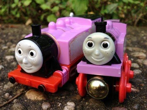 Thomas And Friends Rosie vs Rosie توماس واﻷصدقاء روزي العاب اطفال جديدة