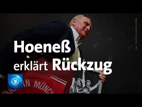 FC Bayern München: Uli Hoeneß erklärt seinen Rücktrit ...