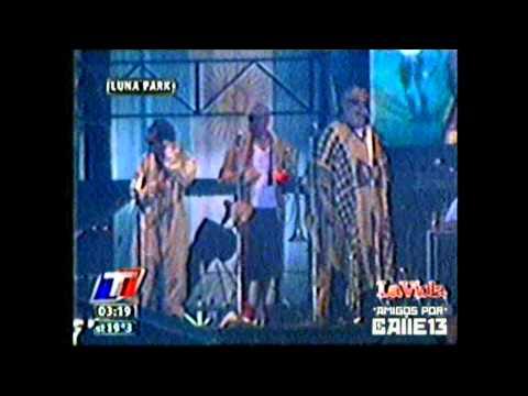 Calle 13 * Luna Park * La Perla * 18/02 (видео)