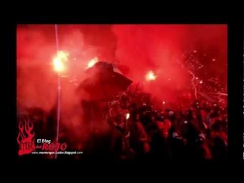 Recibimiento Club Deportivo El Nacional Marea Roja - Marea Roja - El Nacional