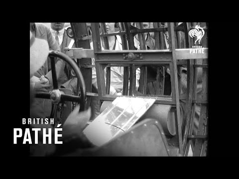 vehicle - The Dynasphere! Psychotic 1930s Vehicle! A fusion of two British Pathe reels which you can watch here: