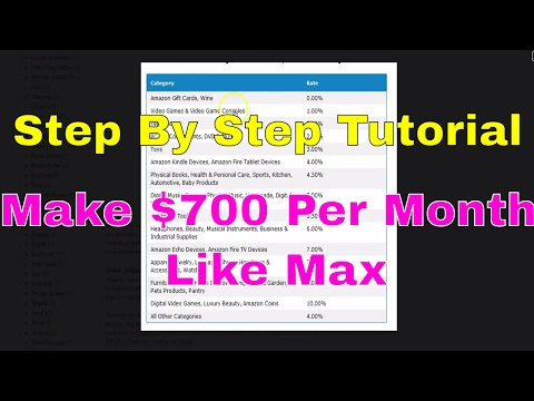 Start an Affiliate Marketing Business Like Max | Step By Step Tutorial | Side Hustle Training