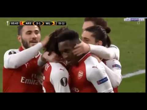 Arsenal vs Milan 3-1 ✔ All Goals & Highlights ✔  15/03/2018 HD