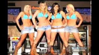Video montage of the hottest girls in Texas posing at the San Marcos Bikinis Sports Bar and Grill.