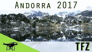 Aufnahmen aus Andorra mit der Mavic PRO in 4K.