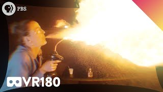 IN YOUR FACE EXPLOSIVE CHEMISTRY!! (VR180) by It's Okay To Be Smart